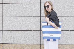 torba plażowa, torebka, kaletnictwo, szycie
